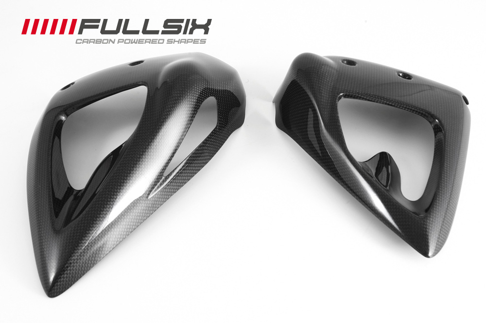 FULLSIX(フルシックス) ドライカーボン製 ラジエターカバーセット DUCATI STREET FIGHTER 848/1100(09)