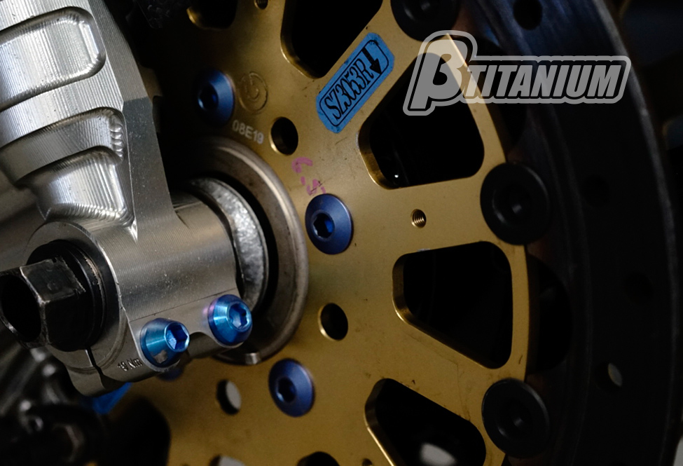 βTITANIUM(ベータチタニウム) SUZUKI GSX-R600/750(08-10)  フロントフォークピンチボルトキット