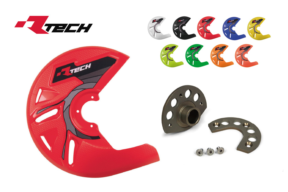 R-TECH(アールテック) フロントブレーキプロテクターセット YAMAHA  YZF250/450 (04-13)