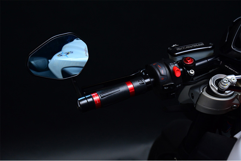 Valter Moto (バルターモト)ハンドルアームミラー SUZUKI  B-KING(07-12)