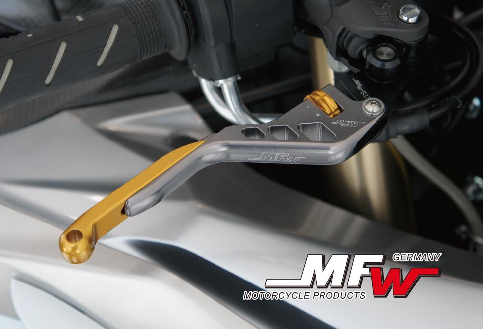 MFW ブレーキレバー/クラッチレバー レボリューションタイプ BMW  R1200GS (04-17)