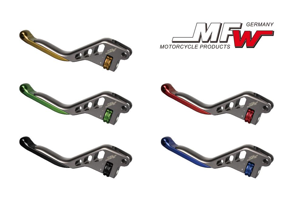 MFW ブレーキレバー/クラッチレバー レボリューションタイプ BMW  R1200RT (17-)