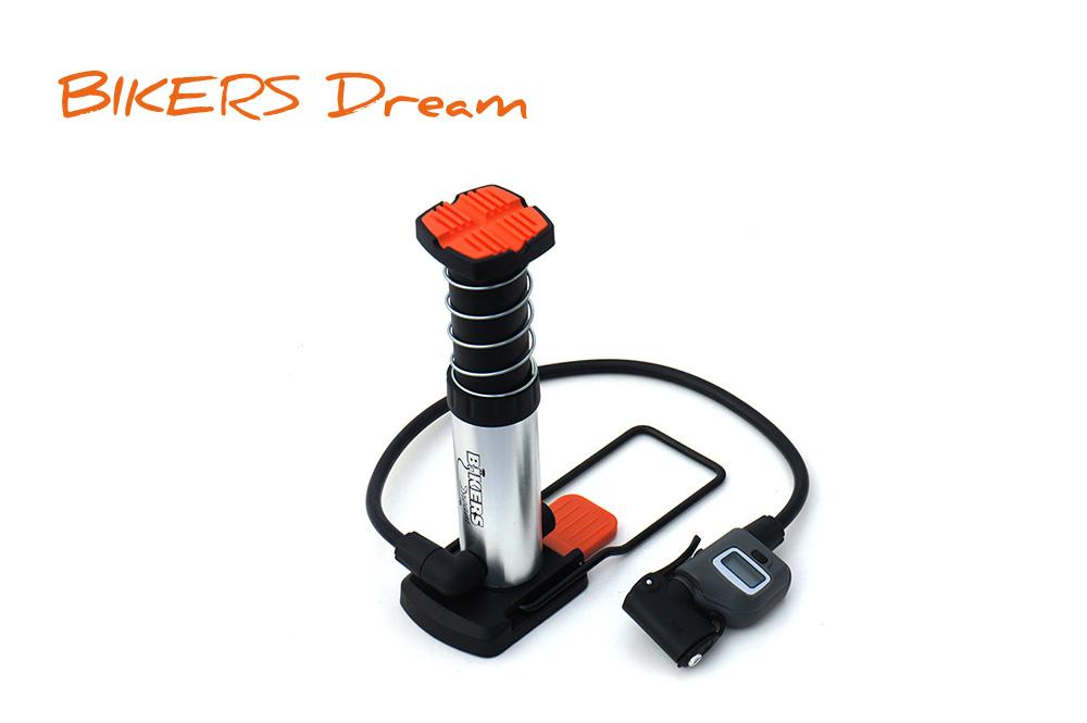 BIKERS DREAM (バイカ—ズドリーム) ミニフットポンプ 携帯型エアーポンプ