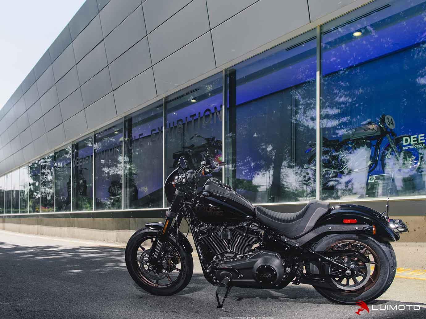 LUIMOTO (ルイモト) Classic / フロント シート カバー Harley Davidson LOW RIDER S 16-20
