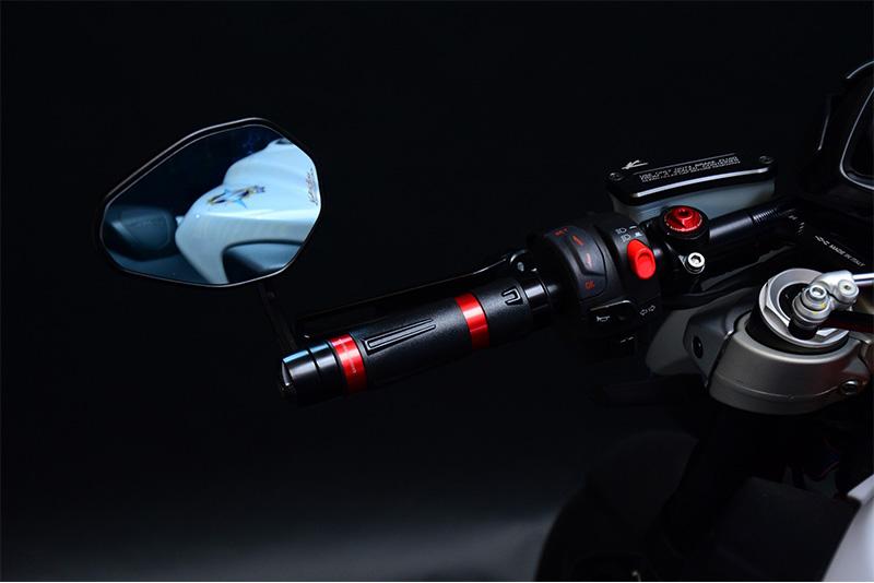 Valter Moto (バルターモト)ハンドルアームミラー DUCATI  Monster 1100