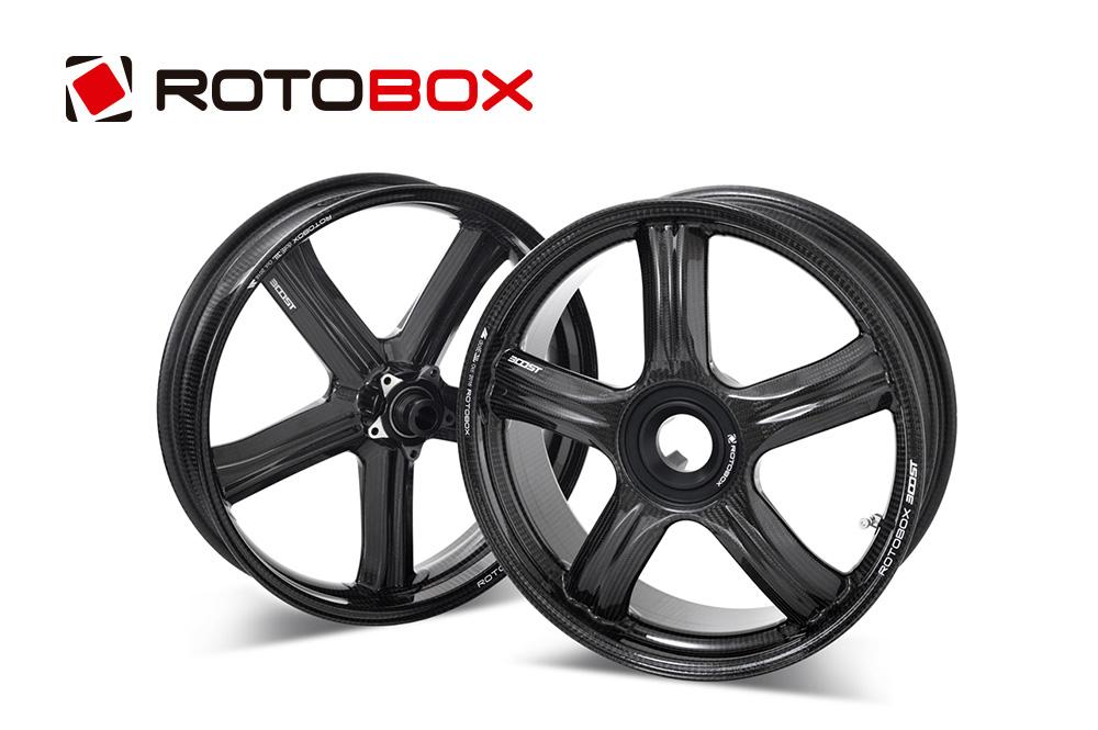 ROTOBOX(ロトボックス) カーボンホイール前後セット BOOST (ブースト) KAWASAKI H2/H2R/SX