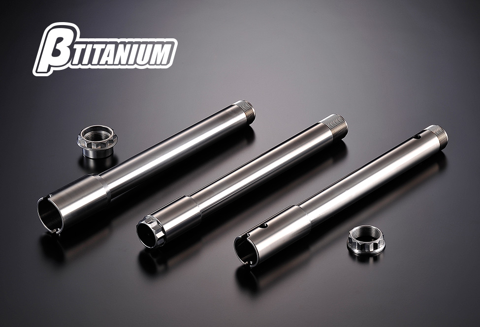 βTITANIUM(ベータチタニウム) SUZUKI GSX-R1000 (12-16)  リアアクスルシャフトキット
