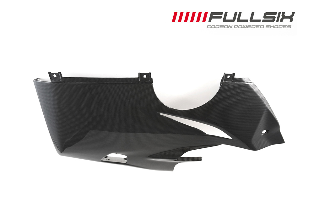 FULLSIX(フルシックス) ドライカーボン製 サイドカウルアンダー 左側 DUCATI  Panigale V4/S/R  (18-20)