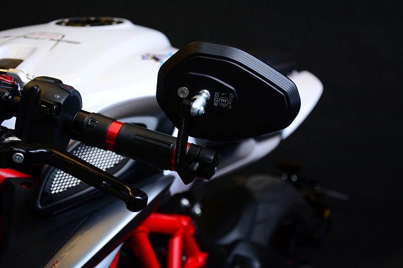 Valter Moto (バルターモト)ハンドルアームミラー TRIUMPH  Speed Triple/R(11-15)