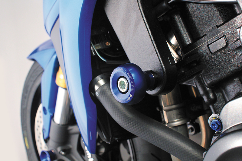Valter Moto (バルターモト)フレームスライダー STREET TRIUMPH Speed Triple/R(08-10)