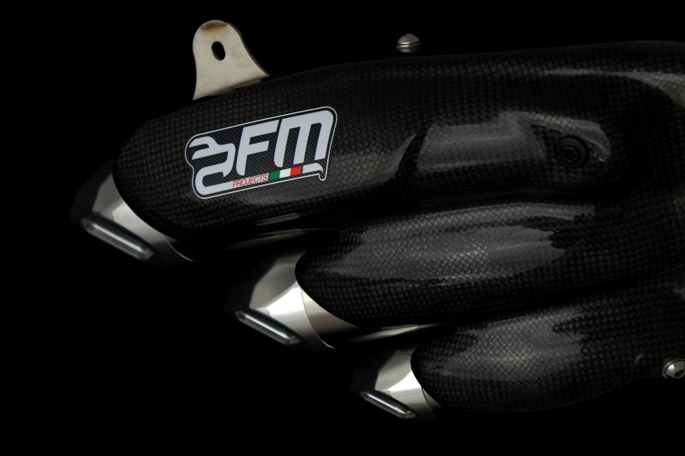 FM Projects FMプロジェクト スリップオンマフラー MV AGUSTA Turismo Veloce800 (ツーリズモ・ベローチェ 800)