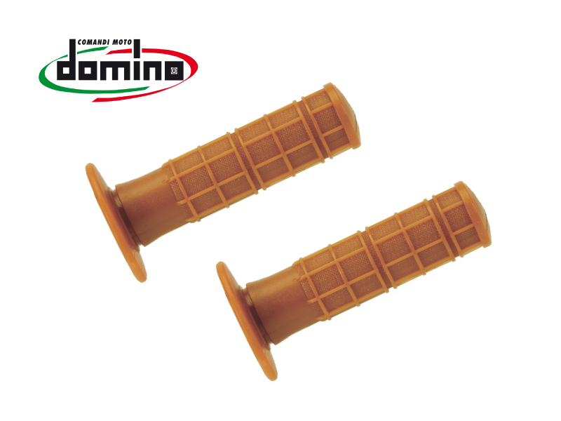 domino グリップ オフロード ビンテージ イタリア製 汎用