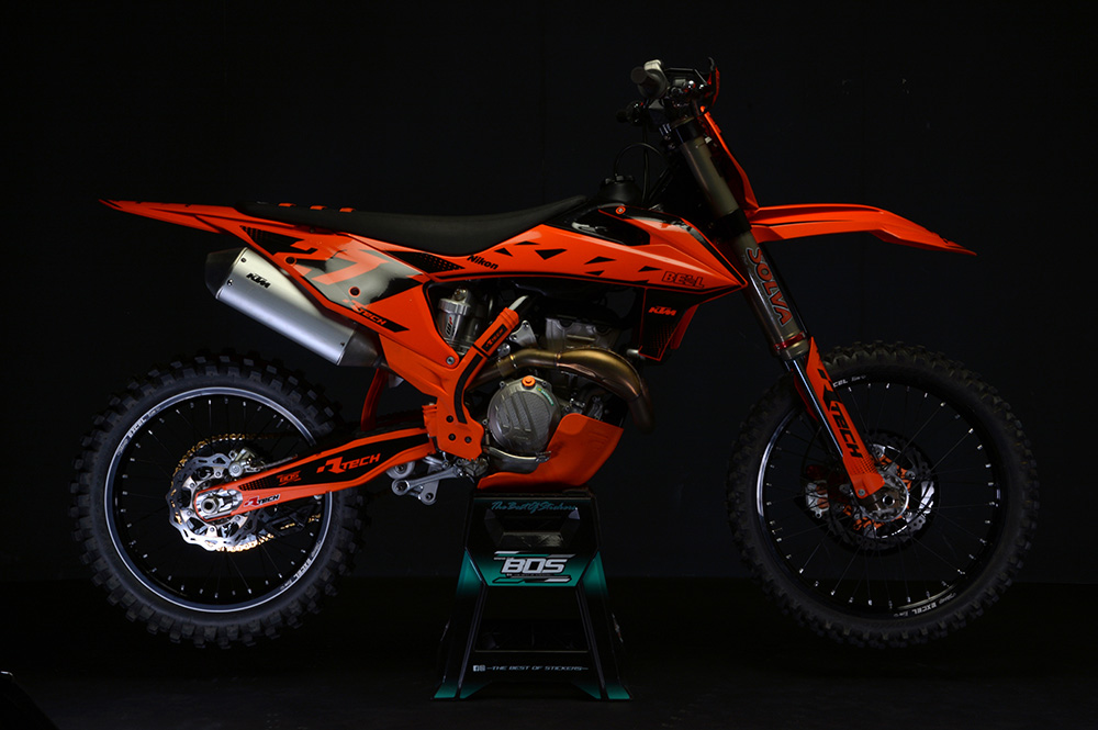 R-TECH(アールテック) テクノポリマー エンジンプロテクター KTM SX-F/XC-F250/350 (19-20) オレンジ
