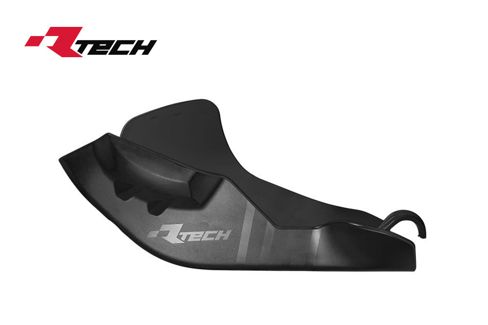 R-TECH(アールテック) テクノポリマー エンジンプロテクター KTM SX-F450 FACTORY EDITION (16-18) ブラック
