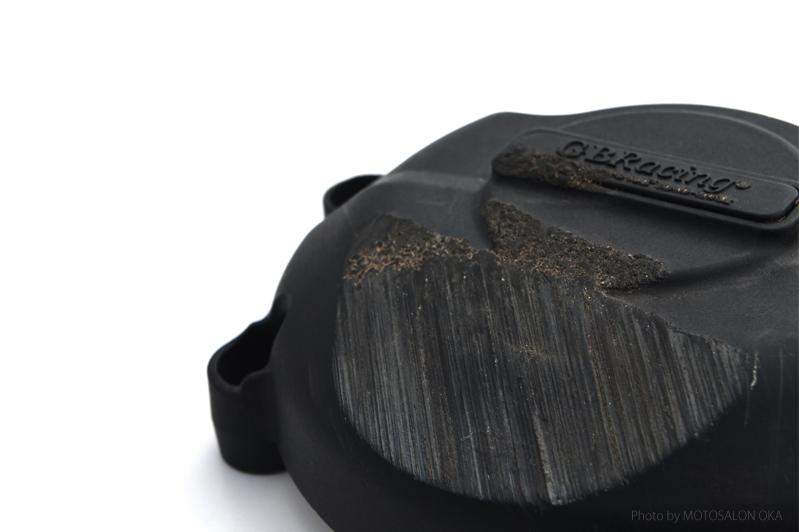 GBRacing FIM公認 エンジンカバー(2次カバー ) TRIUMPH DAYTONA675/R   STREET TRIPLE/R (11-12) ※刻印有タイプ