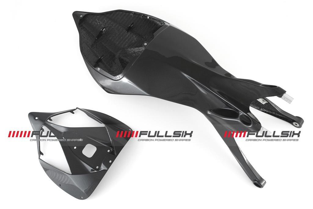 FULLSIX(フルシックス) ドライカーボン製 カーボンモノコックシートレール一体型カウル(ストリート) DUCATI 1199/899 Panigale
