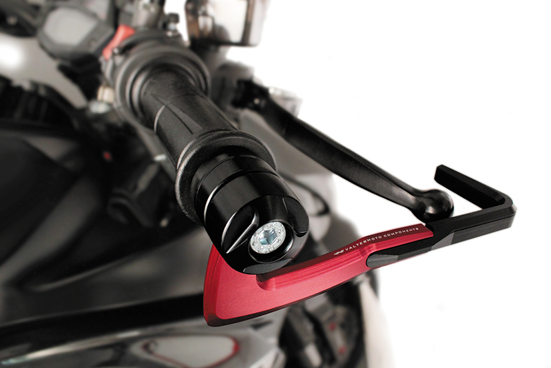 Valter Moto (バルターモト)レバーガード SAFEROD TRIUMPH Street Triple/R(07-12)