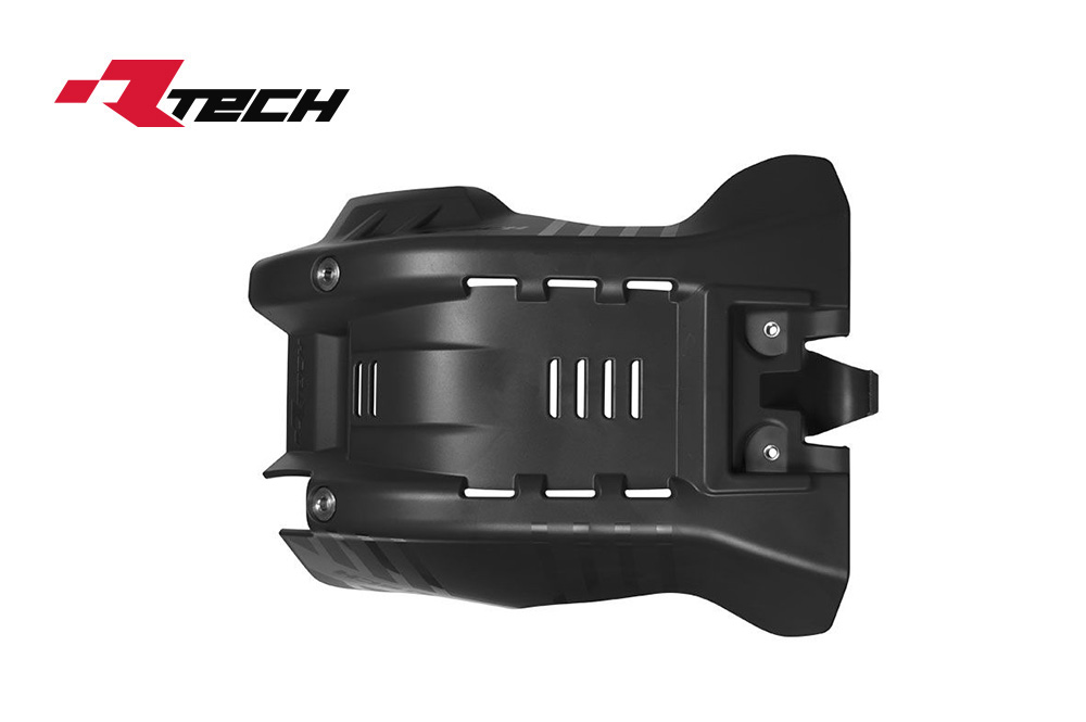 R-TECH(アールテック) テクノポリマー エンジンプロテクター HUSQVARNA FC250/350 (16-18) ブラック
