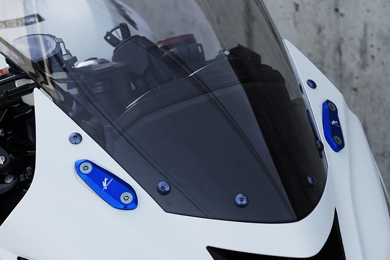 Valter Moto (バルターモト)ミラーブロックオフ HONDA CBR600F (11-15)