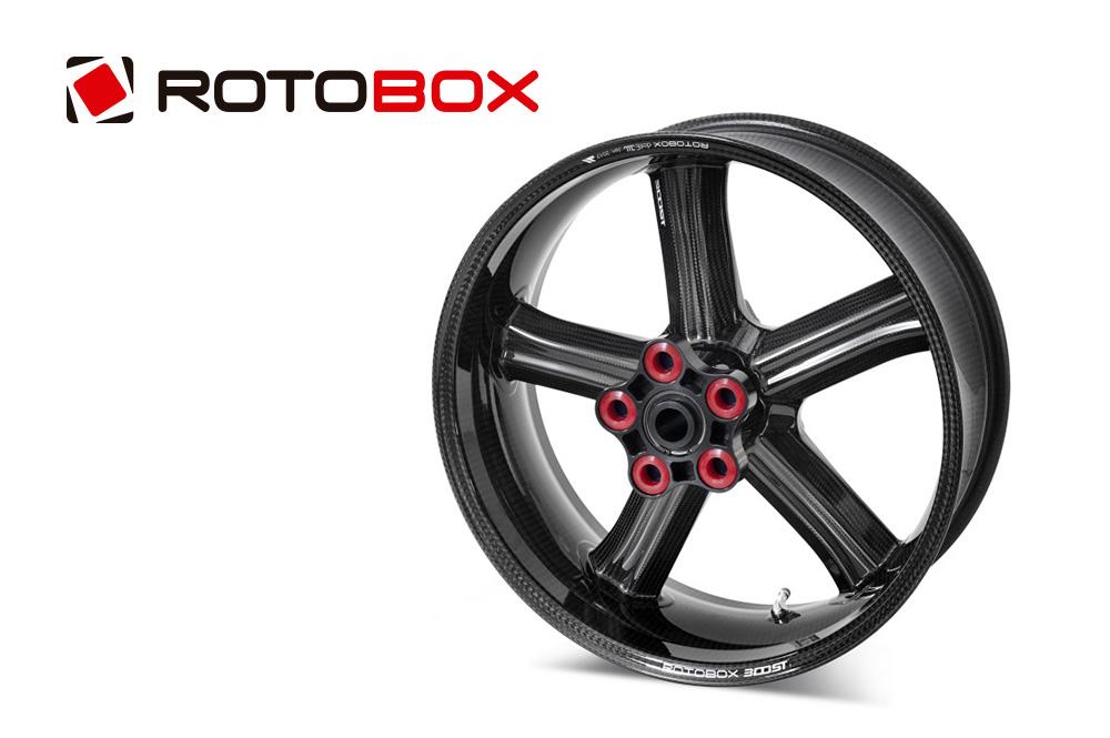 ROTOBOX(ロトボックス) カーボンホイールセット BOOST (ブースト) SUZUKI GSX-R1000 (17-)
