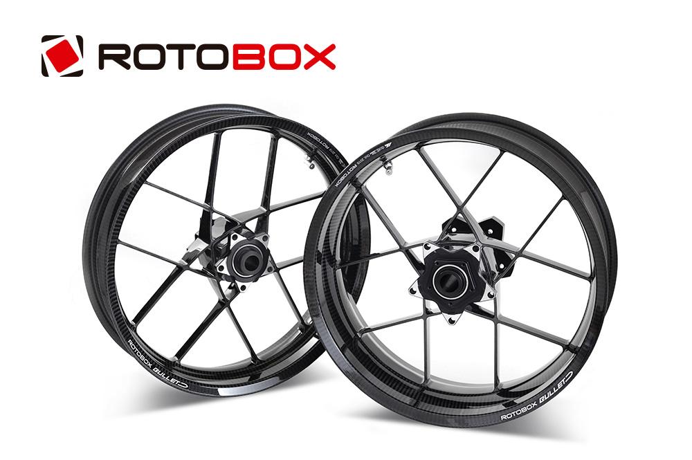 ROTOBOX(ロトボックス) カーボンホイールセット BULLET (バレット) SUZUKI GSX1300R隼 (13-20)