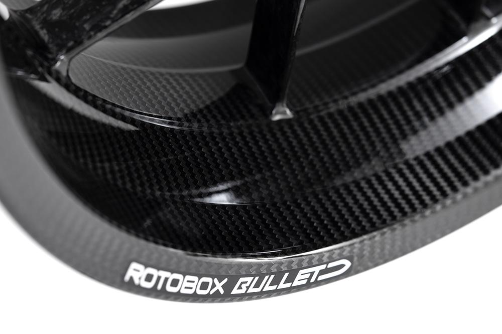 ROTOBOX(ロトボックス) カーボンホイールセット BULLET (バレット) KAWASAKI H2/H2R/SX