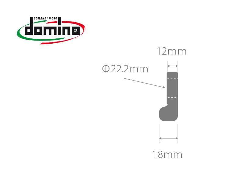 domino 汎用 ダブルプッシュスイッチ