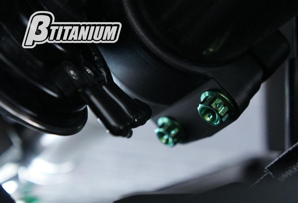 βTITANIUM(ベータチタニウム) SUZUKI KATANA (19-)  ステアリングステムアンダーボルトキット