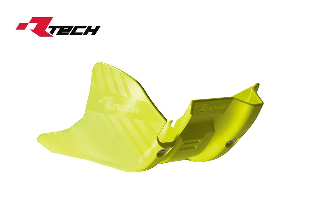 R-TECH(アールテック) テクノポリマー エンジンプロテクター HUSQVARNA FC450 (16-18) イエロー