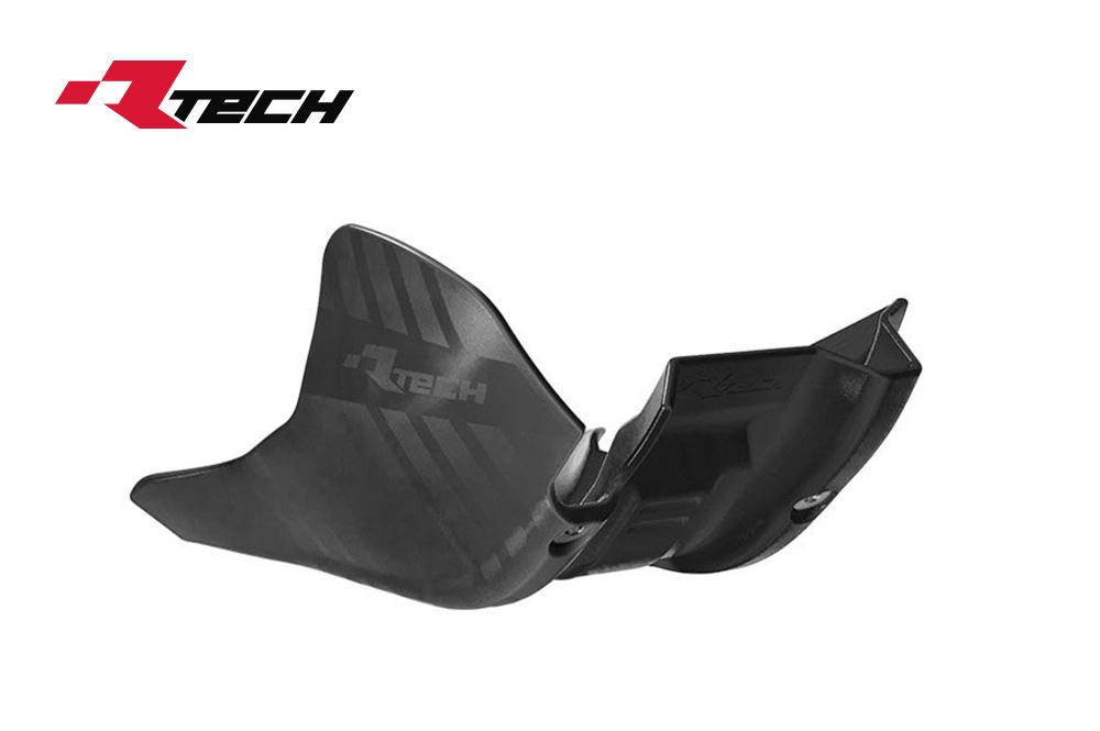 R-TECH(アールテック) テクノポリマー エンジンプロテクター HUSQVARNA FC/FX450 (19-20) ブラック