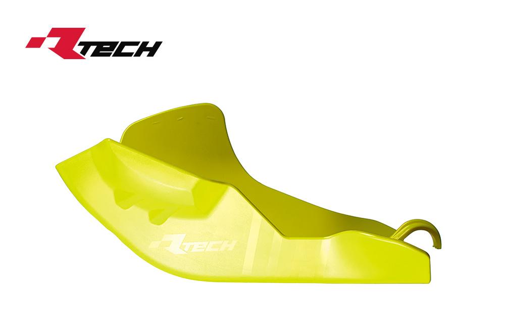 R-TECH(アールテック) テクノポリマー エンジンプロテクター HUSQVARNA FC/FX450 (19-20) イエロー