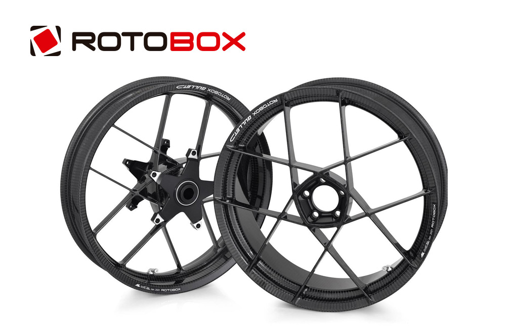 ROTOBOX(ロトボックス) カーボンホイールセット BULLET (バレット) BMW R1200RS (-18)/R1250RS/RR