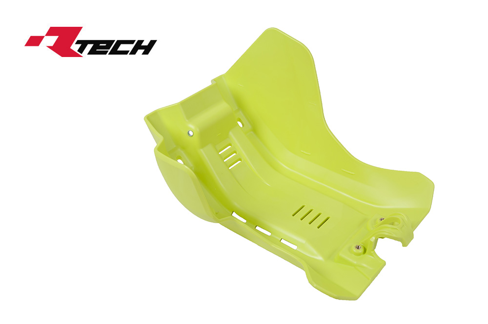 R-TECH(アールテック) テクノポリマー エンジンプロテクター HUSQVARNA FE250/350 (17-20) イエロー