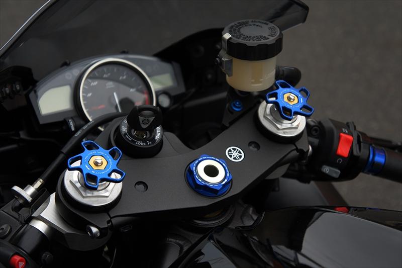 Valter Moto (バルターモト)ステムナット TRIUMPH STREET TRIPLE(07-17) / DAYTONA675(06-16)