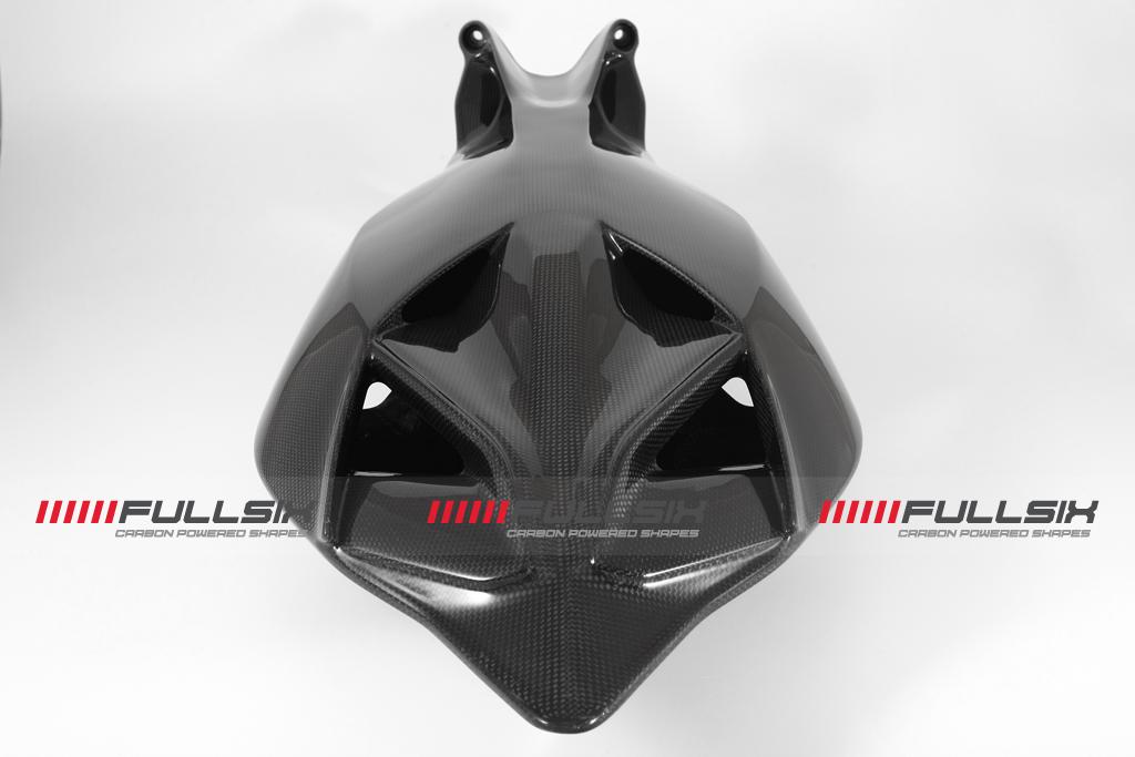 FULLSIX(フルシックス) ドライカーボン製 カーボンモノコックシートレール一体型カウル (レース用)DUCATI 1199/899Panigale