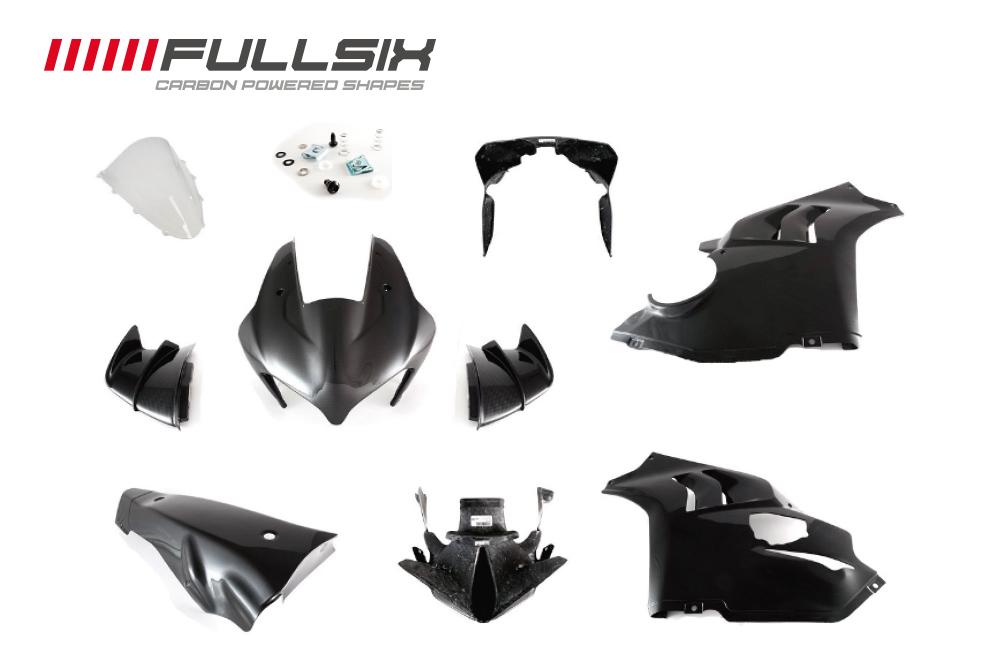FULLSIX(フルシックス) ドライカーボン製 レース専用 コンプリートカウルキット DUCATI  Panigale V4/S/R (18-20)