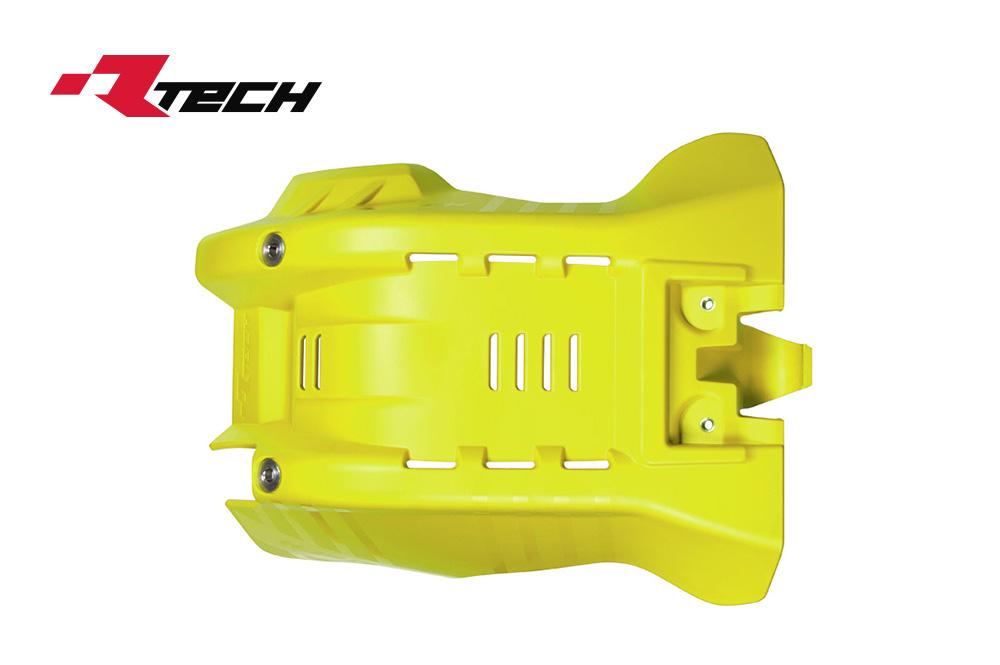 R-TECH(アールテック) テクノポリマー エンジンプロテクター HUSQVARNA TC250 (17-19) イエロー