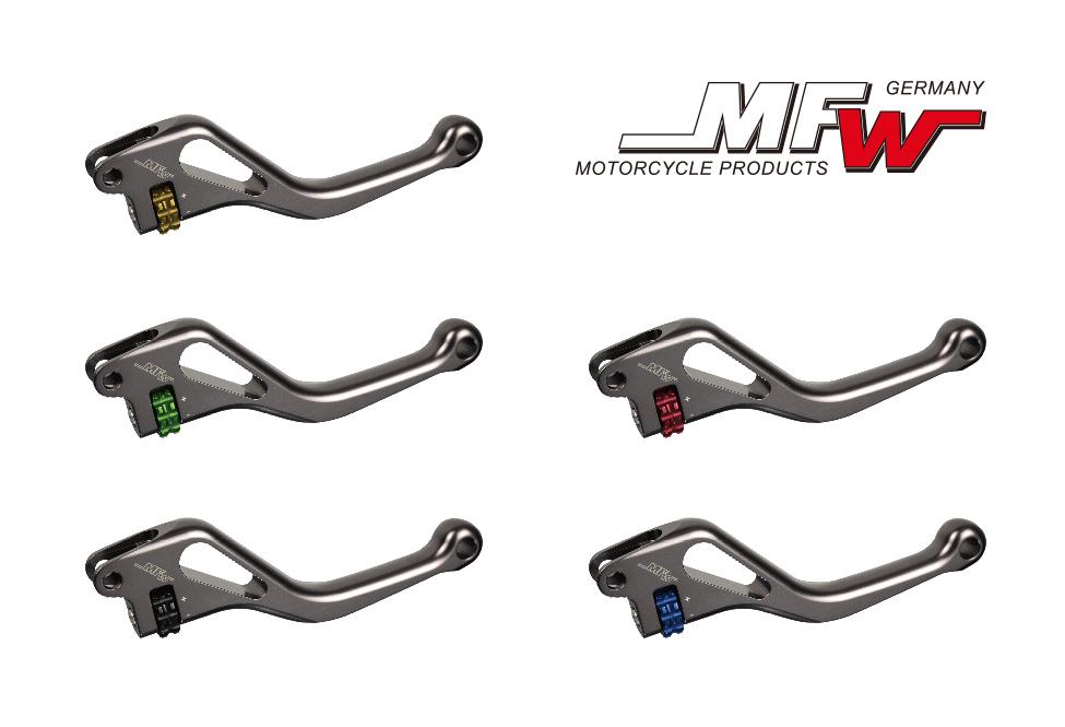 MFW ブレーキレバー/クラッチレバー ショートタイプ  KTM RC8,R 1190  (08-)