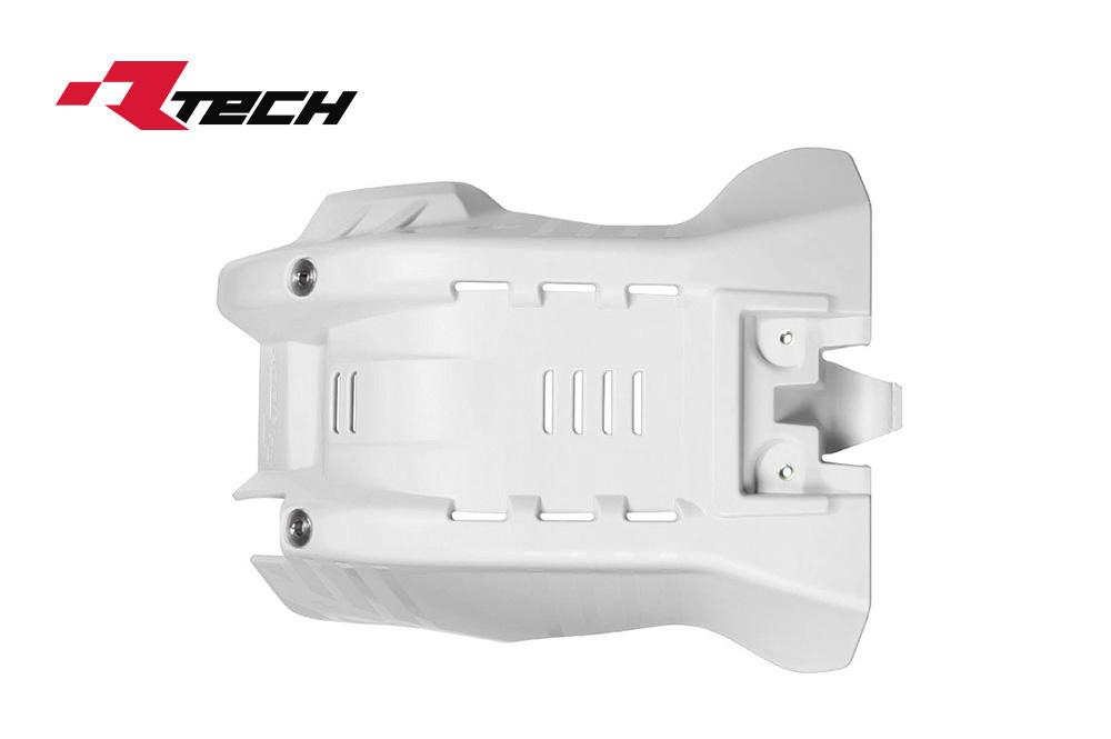 R-TECH(アールテック) テクノポリマー エンジンプロテクター HUSQVARNA TE/TX50/300 (17-20) ホワイト