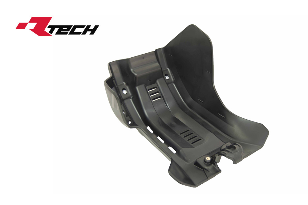 R-TECH(アールテック) テクノポリマー エンジンプロテクター HUSQVARNA FE/FS/FX450/500 (17-20) ブラック