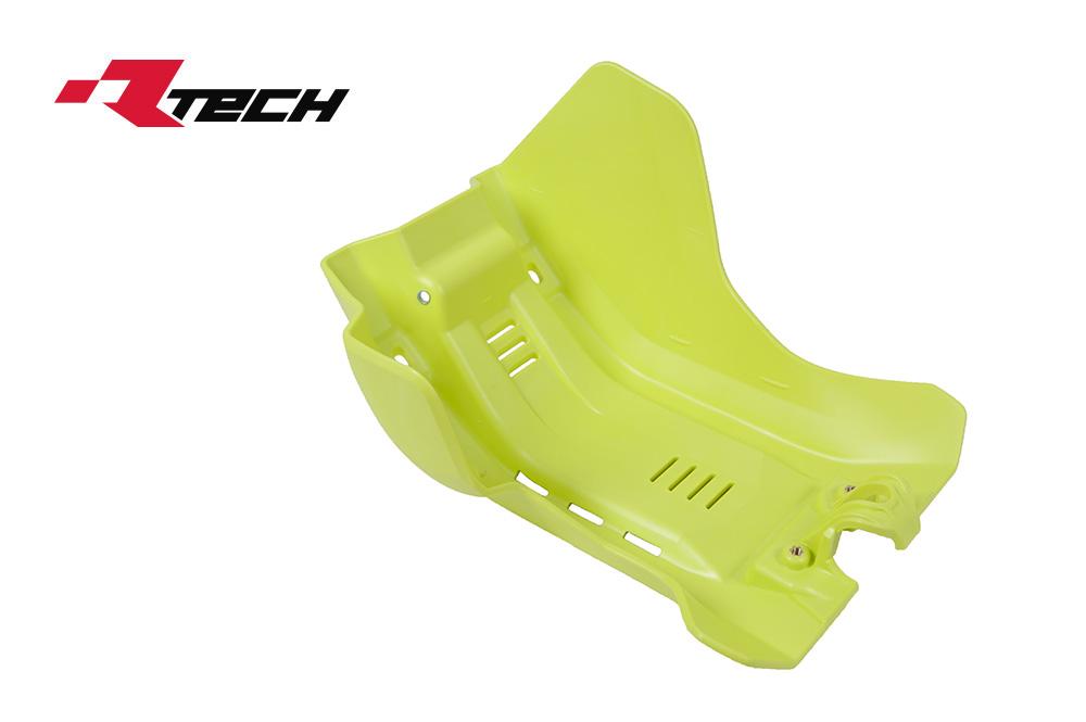 R-TECH(アールテック) テクノポリマー エンジンプロテクター HUSQVARNA FE/FS/FX450/500 (17-20) イエロー