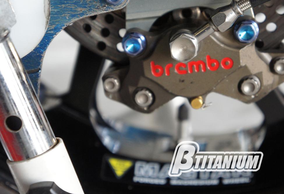 βTITANIUM(ベータチタニウム) BMW R nineT (13-16)  リアキャリパーマウントボルトキット