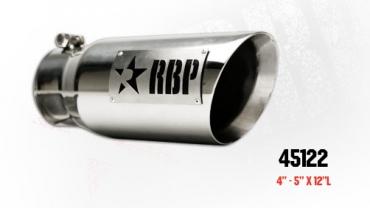 ★RBP ステンレスエグゾーストチップ