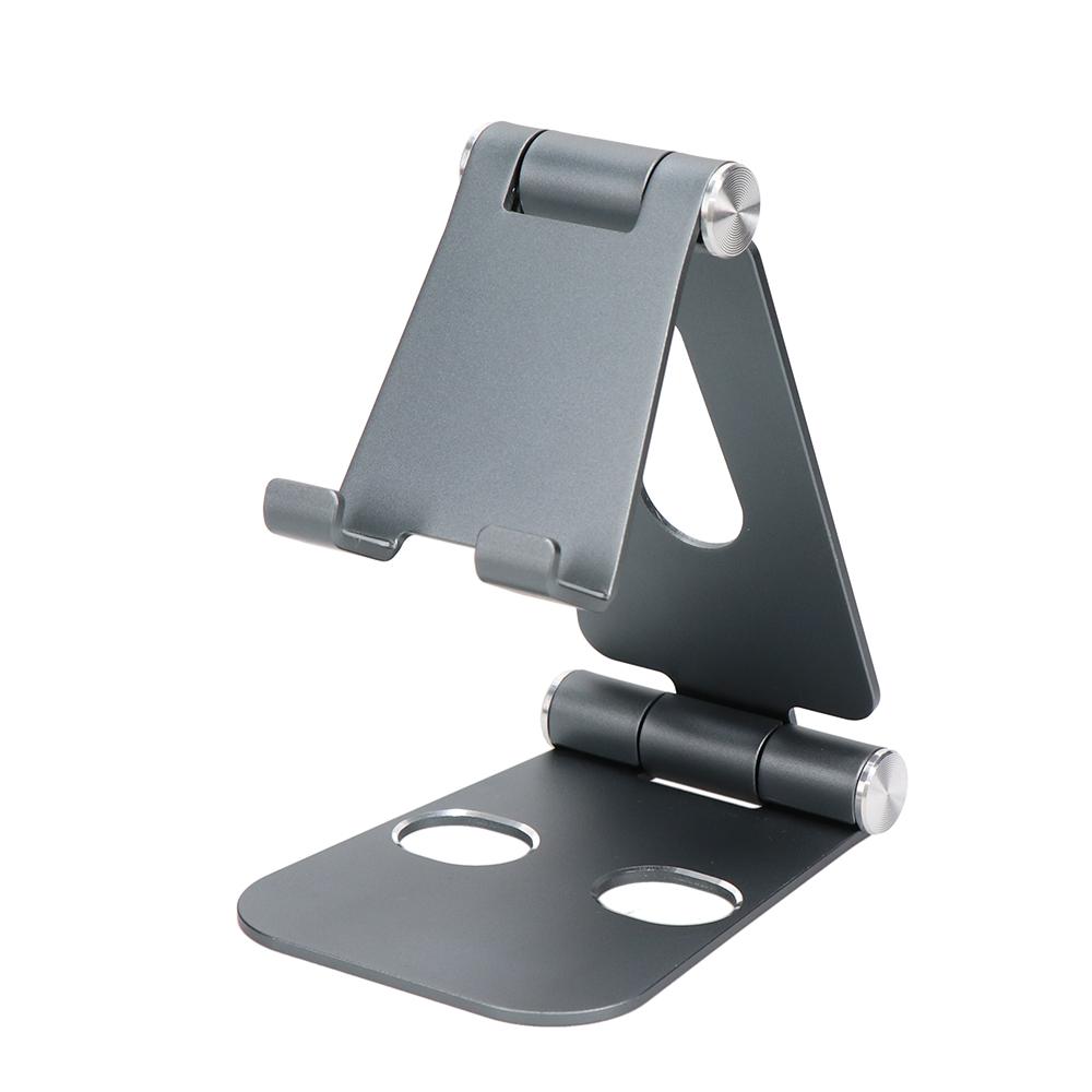 スマホ&タブレット対応アルミスタンド 角度調整可能 テレワーク 在宅勤務 動画視聴(MOT-SPSTD02)