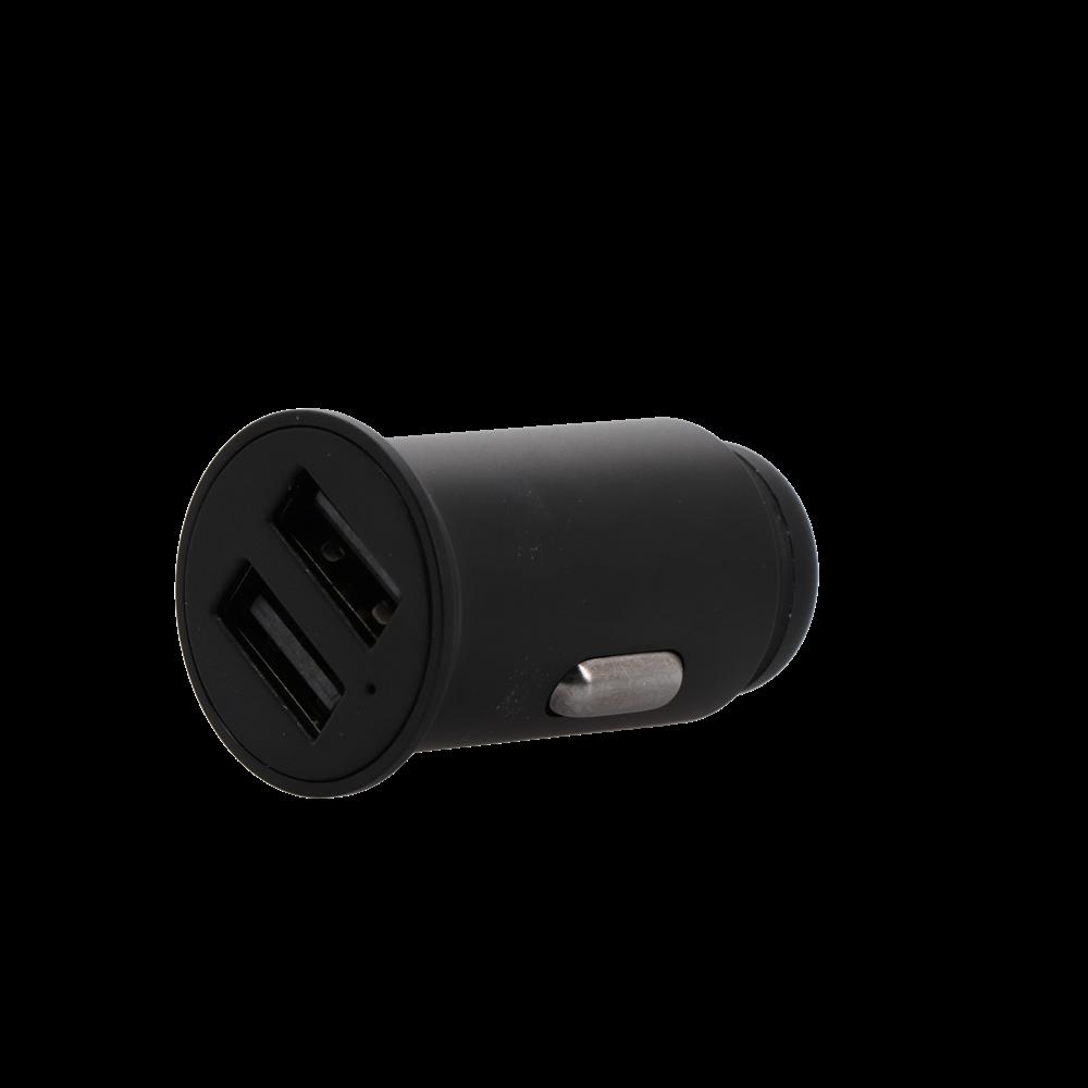 車で急速充電が可能 USB Type-A×2ポート USB車載充電器(カーチャージャー) 2年保証(MOT-DC48U2)