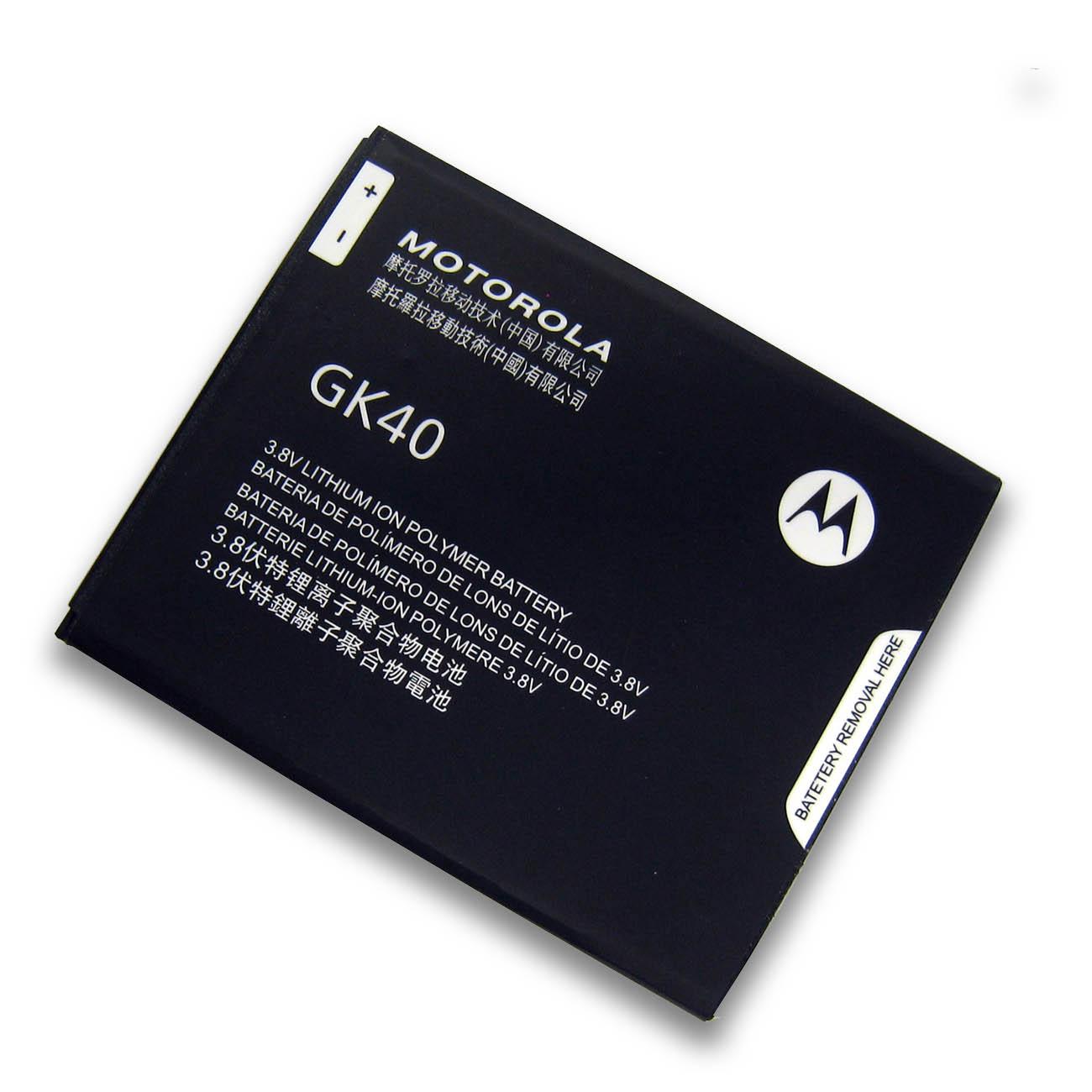 【全国送料無料】MOTOROLA Moto G5 | Moto G4 Play用 メーカー純正内蔵バッテリー GK40