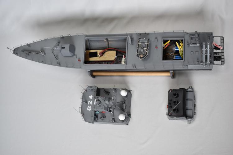 ミサイル艇塗装済完成品 - 限定品