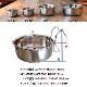 ハンガーボウル M ゲージ キャリー 簡単設置 犬 猫 ペット用 給水 水入れ エサ 餌