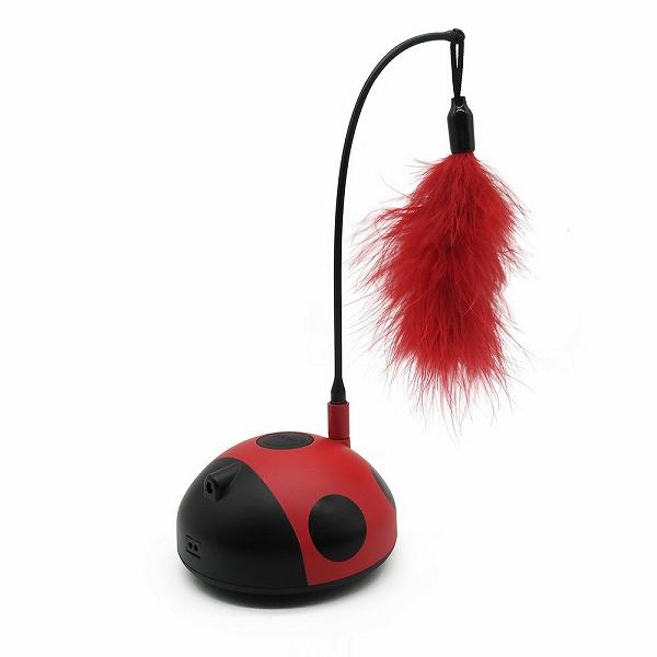 ファンタジー レディーバグ 猫 TOY ネコ おもちゃ 電動 ボール ねこじゃらし