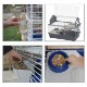 イタリアferplast社製 うさぎ用ケージ バーン 100 BARN グレー